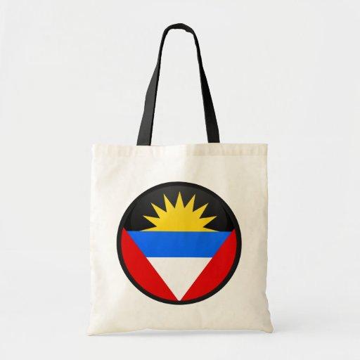 Antigua And Barbuda quality Flag Circle Bag