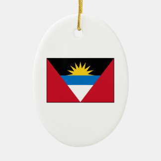 Antigua Barbuda Flag Ornaments