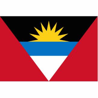 Antigua & Barbuda Flag Acrylic Cut Outs