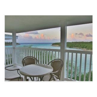 Antigua bay postcard
