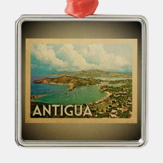Antigua Caribbean Ornament Vintage Travel