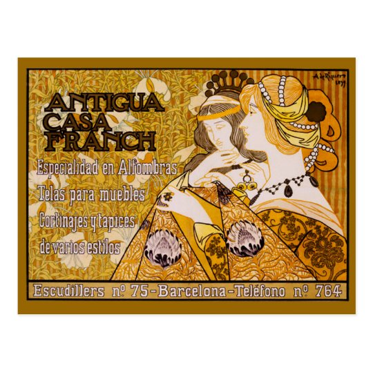 Antigua Casa Franch Postcard