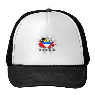 Antigua Flag Map 2.0 Cap
