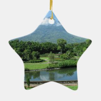 Antigua Guatemala Ceramic Star Decoration