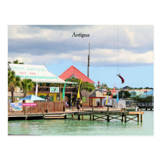 Antigua, Island in the Caribbean Postcard