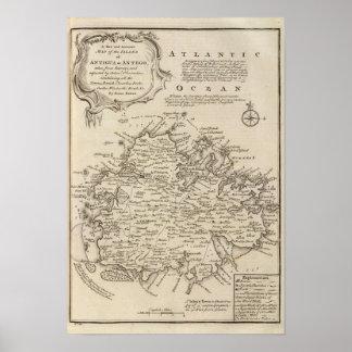 Antigua or Antego Poster