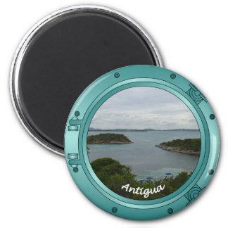Antigua Porthole 6 Cm Round Magnet