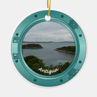 Antigua Porthole Christmas Ornament