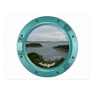 Antigua Porthole Postcard