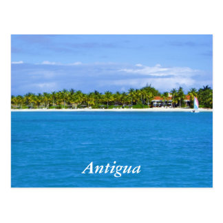 Antigua Resort Postcard
