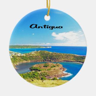Antigua Round Ceramic Decoration