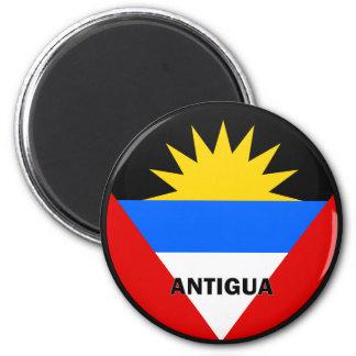 Antigua Roundel quality Flag 6 Cm Round Magnet