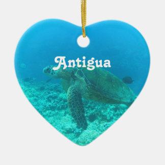Antigua Scuba Diving Christmas Ornament