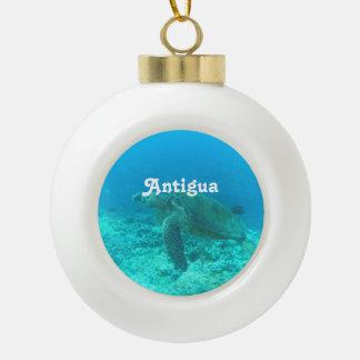 Antigua Scuba Diving Ornament