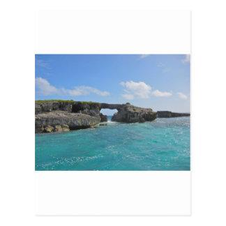 antigua sea postcard