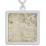 Antigua Square Pendant Necklace