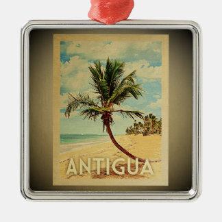 Antigua Vintage Travel Ornament Palm Tree