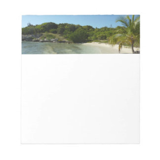 Antiguan Beach Beautiful Tropical Landscape Notepad