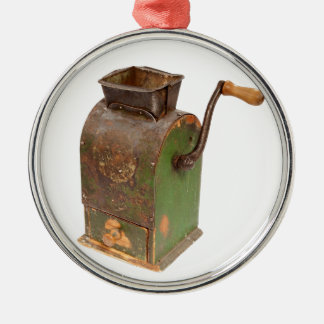 Antigue coffee mill christmas ornament