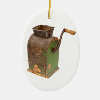 Antigue coffee mill christmas ornament