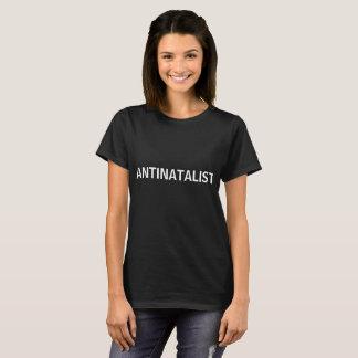 ANTINATALIST simple shirt