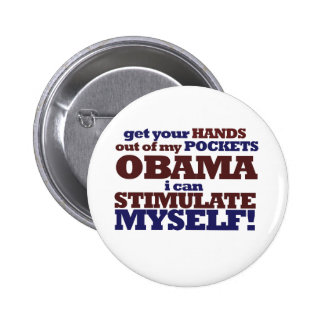 AntiObama Rally 6 Cm Round Badge