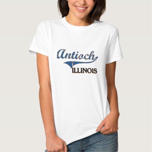 Antioch Illinois City Classic Tshirt