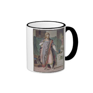 Antiochus, costume for 'Berenice' by Jean Racine, Mugs