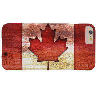 Antiquated Flag of Canada Barely There iPhone 6 Plus Case