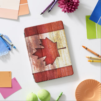 Antiquated Flag of Canada iPad Pro Cover