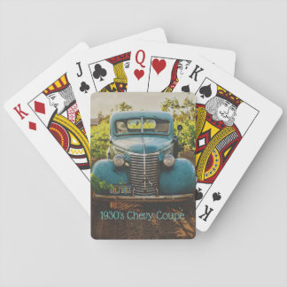 Antique 1930's Coupe Playing Cards