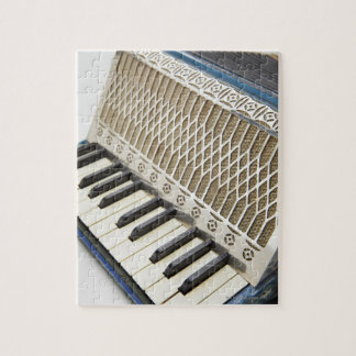 Antique Accordion Keyboard Jigsaw Puzzle