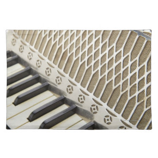 Antique Accordion Keyboard Placemat