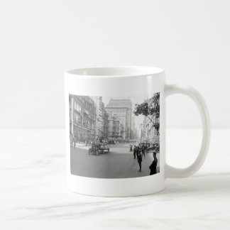 Antique Airplane on Parade early 1900s Coffee Mugs