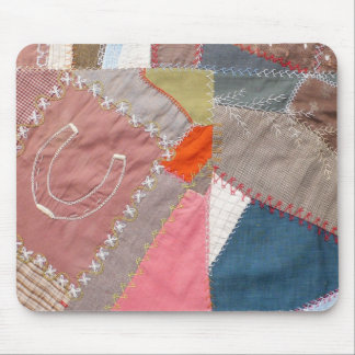 Antique American Crazy Quilt - Quilter's Mouse Pad