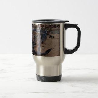 Antique Anchor Travel Mug