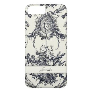 Antique Angel Customizable _Black iPhone 8 Plus/7 Plus Case