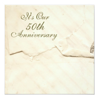 Antique Anniversary Card