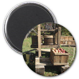 Antique Apple Cider Press Magnet