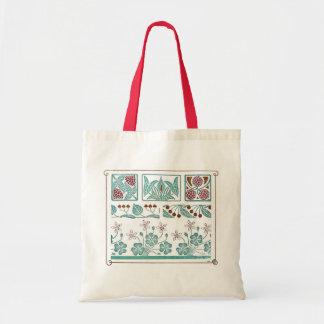 Antique Art Nouveau Pattern Design Maurice Pillard Canvas Bag