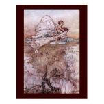 Antique Arthur Rackham Fairy Illustration Postcards