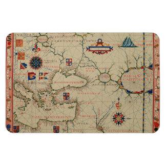 Antique Asia Minor Map Vinyl Magnets