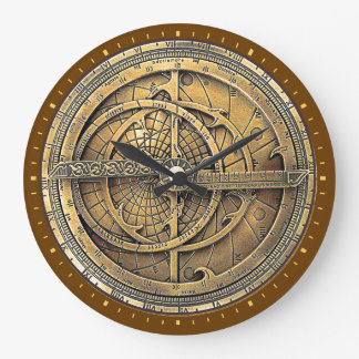 Antique Astrolabe 2 Wallclocks