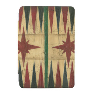Antique Backgammon Game Board by Ethan Harper iPad Mini Cover