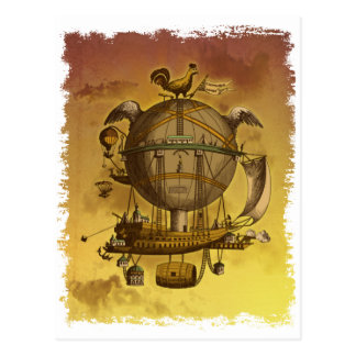 Antique Balloon Postcard