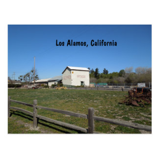 Antique Barn, Los Alamos, Caifornia Postcard
