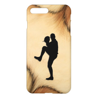 Antique Baseball Player Pitcher Windup iPhone 8 Plus/7 Plus Case