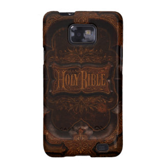 Antique Bible Cover Samsung Galaxy SII Cover