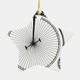 Antique Bicycle Christmas Ornaments