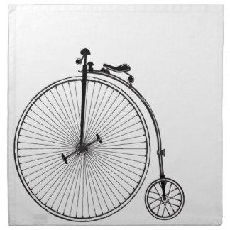 Antique Bicycle Napkin